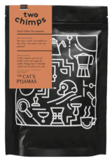 Coffee Bag and label The Cat's Pyjamas