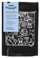 two chimps coffee bag - captain caffeination