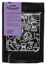 Two Chimps Coffee Bag Starry Eyed Decaffeinated