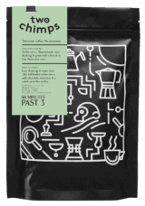 88 minutes past 3 two chimps coffee packaging png